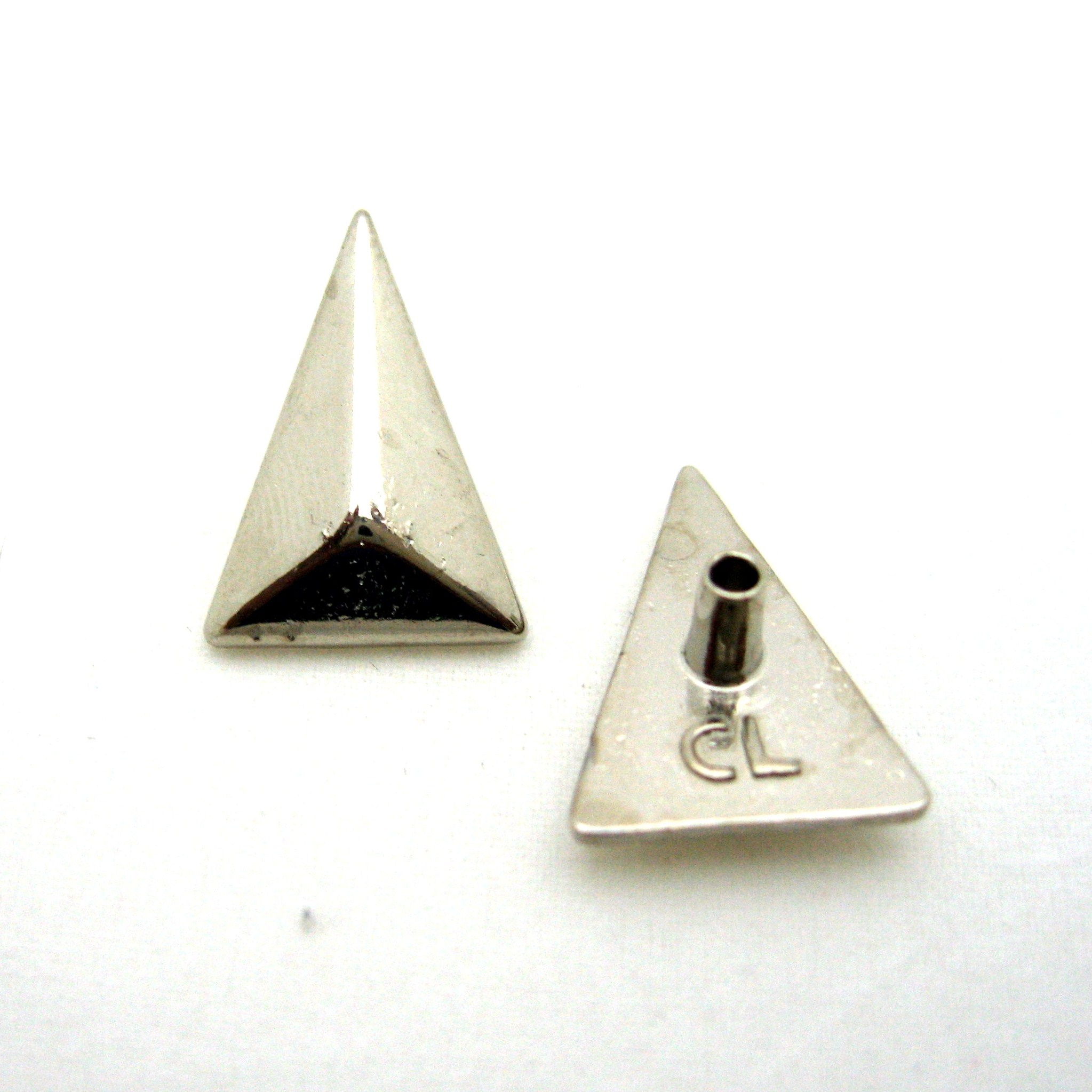 APLIQUE TRIANGULO ISOSCELES LISO 17MM